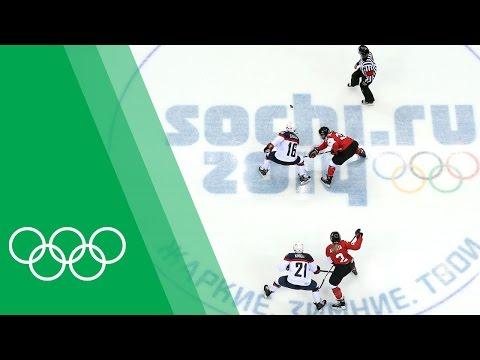 Canada vs USA - Hayley Wickenheiser relives the Sochi 2014 Women's Ice Hockey final