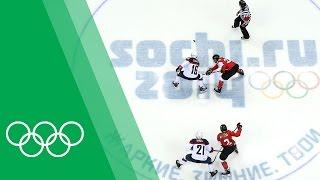 Canada vs USA - Hayley Wickenheiser relives the Sochi 2014 Women