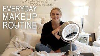 Updated Everyday Makeup Tutorial | Chloe Lukasiak