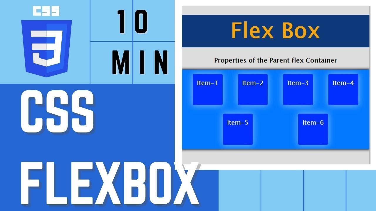 CSS Flexbox in 10 Min