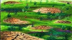 Koleksi Terbaru Teknik Mewarnai Tanah Dengan Crayon