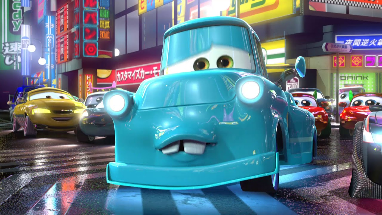 Download Cars Toons - Tokyo Takel - Disney NL