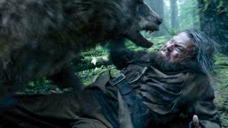 Bear attack scene from The Revenant