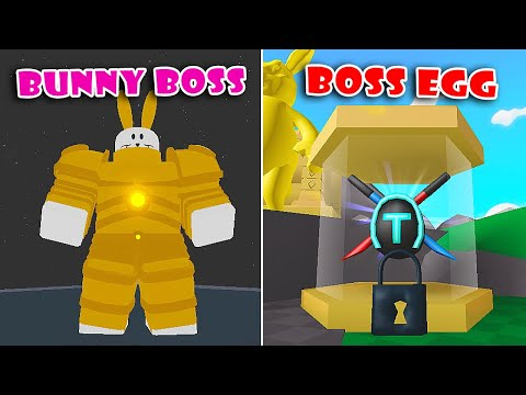 New Update New Easter Bunny Boss Saber Boss Egg In Saber