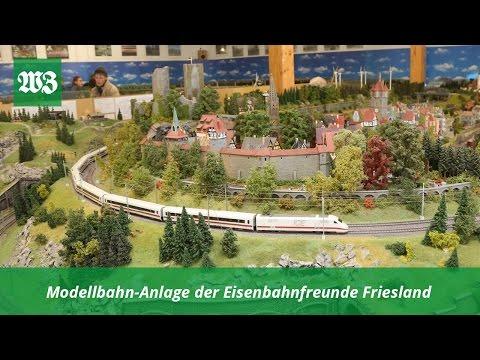 Modellbahn-Anlage der Eisenbahnfreunde Friesland   Wilhelmshavener Zeitung