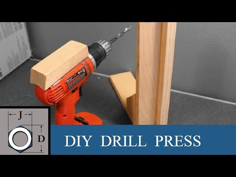 How to Drill Straight holes without a Drill Press