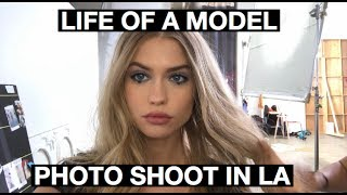 LIFE OF A MODEL: FLYING TO LA FOR A PHOTO SHOOT