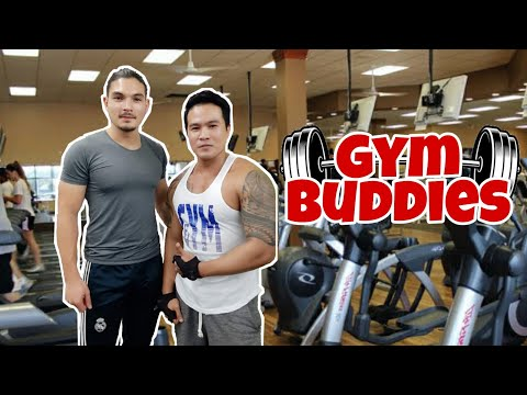 Gym Buddies   Compilation Of Pictures From The Past To Present