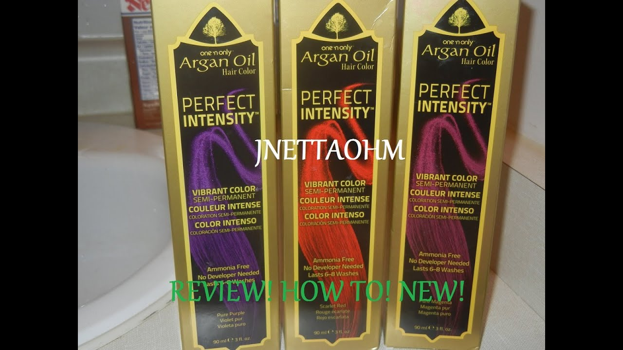 Another One N Only Argan Oil Perfect Intensity Review Youtube