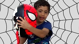 OPENING SPIDERMAN AND CARS SURPRISE EGGS | Spiderman VS Venom | Toy Unboxing Videos | Kiddyzuzaa