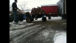 Motorized Wheelbarrow Check This One Out !! Now You Want One !!