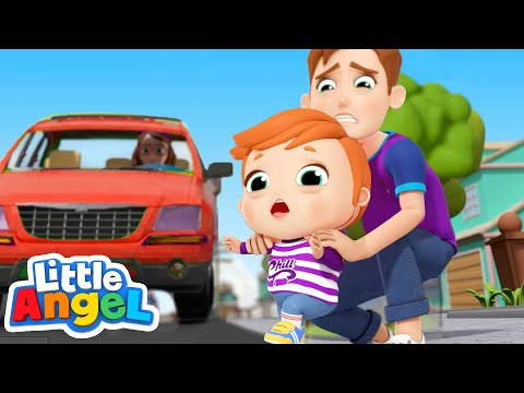 Watch Out For Danger! | Safety Song | Little Angel Kids Songs & Nursery Rhymes