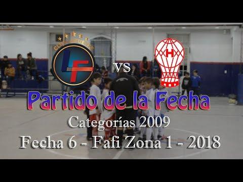 Lafuente 6 - 2 Huracán - Cat 2009 - Fecha 6 - FAFI Zona 1 - 2018 (Baby Fútbol)