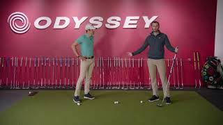 How to use the new Odyssey Broomstick Putter.