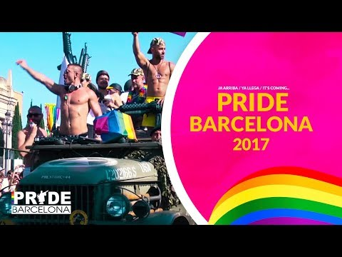 Ja arriba / Ya Llega / It's coming... Pride Barcelona 2017!