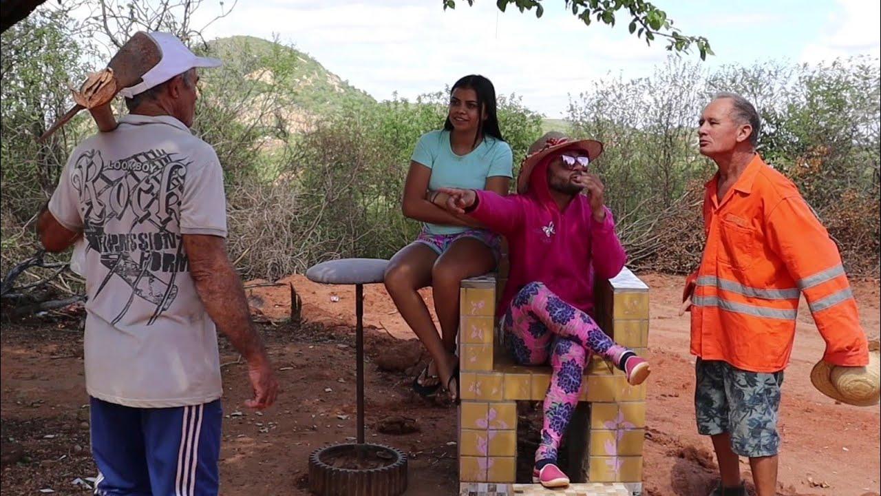 Rozinha pede o DNA pra saber se seu Antonio e seu pai