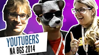YouTubers no estande da Ubisoft na BGS 2014