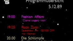 Tele 5 Programm Vorschau 5.12.1989