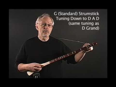 Tuning G Strumstick Down To Key Of D Youtube