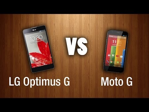 LG Optimus G vs Moto G