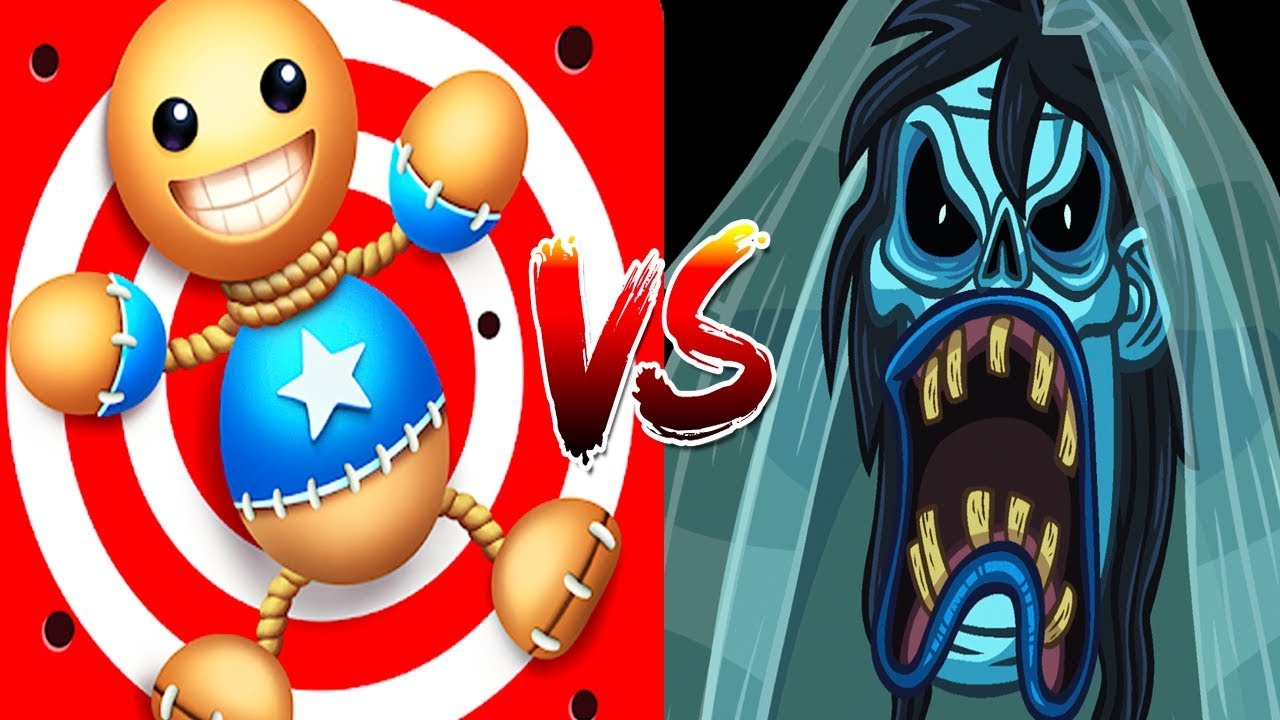 Troll Face Quest Horror Vs Kick The Buddy Horror - All Weapons Fun Trolling Best Moments Compilation