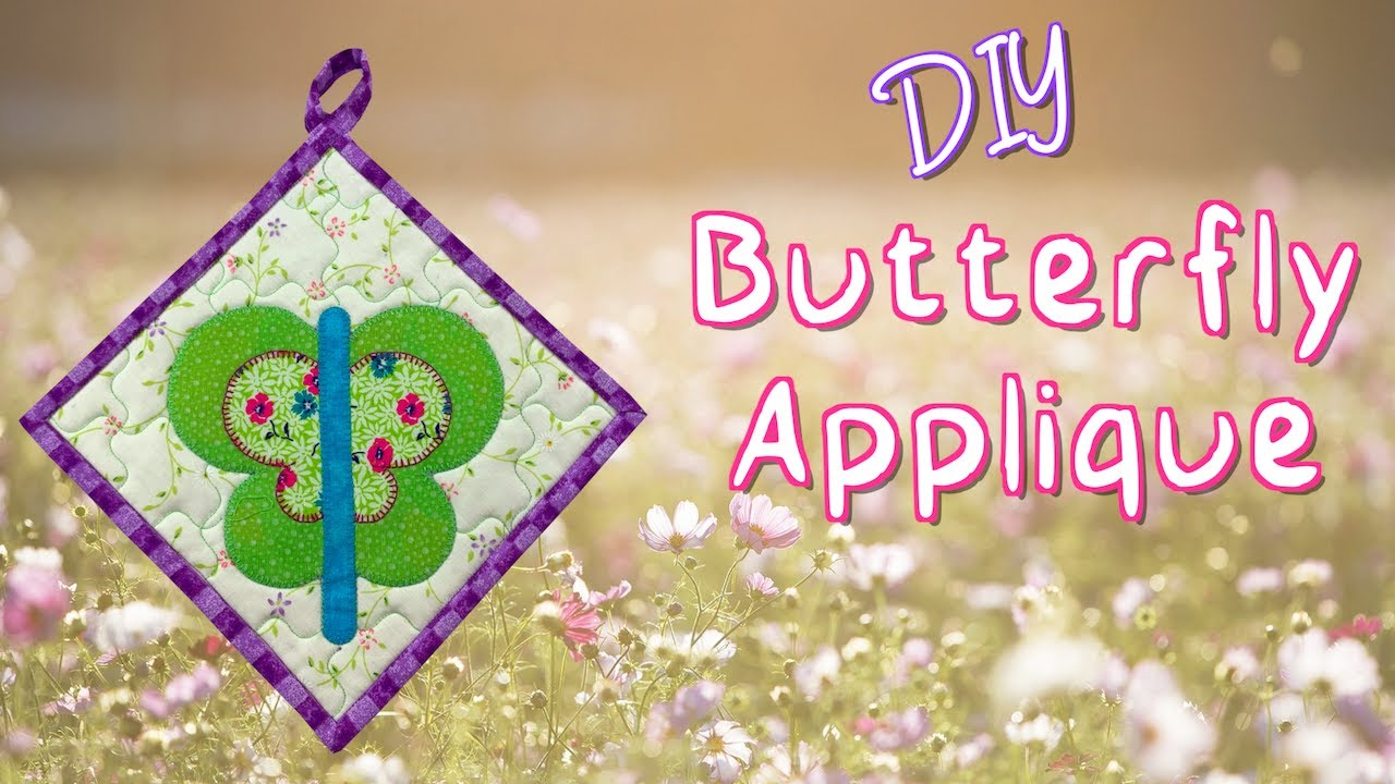 DIY Butterfly Applique | The Sewing Room Channel