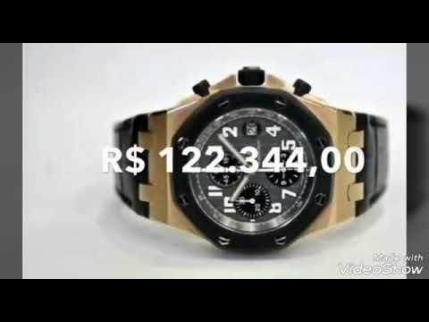 24dcd2254d3ba Os 10 relógios mais caros do mundo..... - YouTube