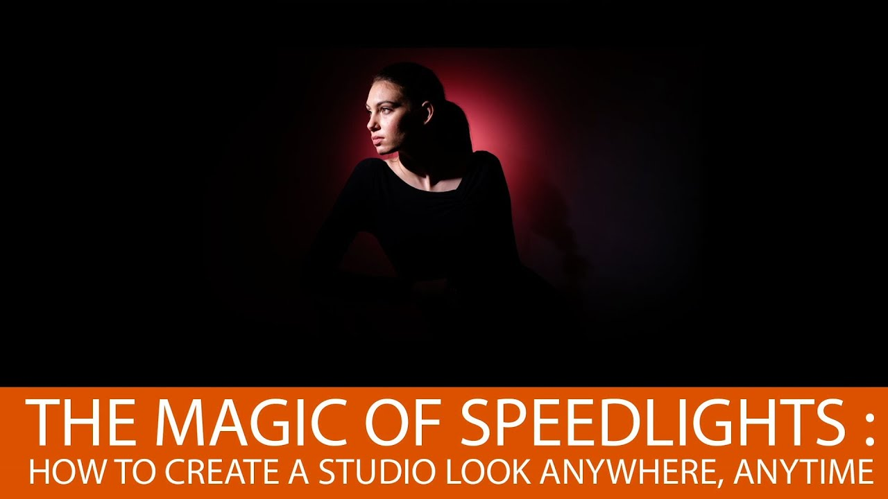 The Magic Of Speedlights: How To Create a Studio Look with Gary Fong