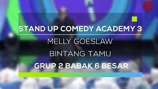 Video Stand Up Comedy Academy 3 : Melly Goeslaw download MP3, 3GP, MP4, WEBM, AVI, FLV Oktober 2017