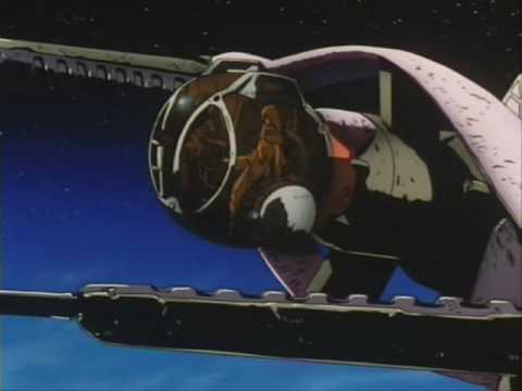 Cowboy Bebop - Space Lion (scene of episode 13)