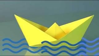 Comment faire un bateau en papier, origami