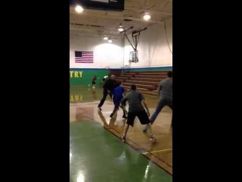 Erik Ainge & Air Ryder Basketball Practice