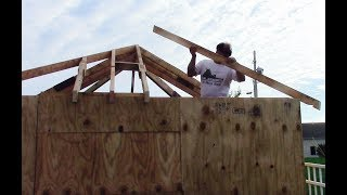 How To Layout And Cut Hip And Valley Roof Rafters