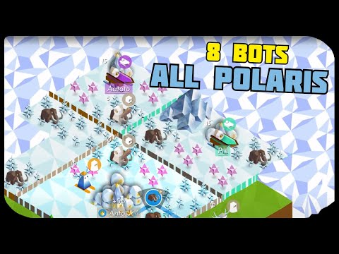 Polytopia, But all 8 Opponents are the Polaris Tribe | The Battle of Polytopia Steam Beta Gameplay |