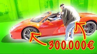 300.000€ FERRARI??? 😱🚗🔥 WIE VIEL IST DEIN AUTO WERT - MAXIMILIANSTRAßE MÜNCHEN | PremeTV
