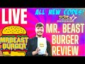 REVIEWING MR. BEAST BURGER LIVE | ALL STAR TOWER DEFENSE