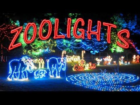 ZOOLIGHTS National Zoo🎄 Washington, D.C -Smithsonian Zoo Lights 🎄