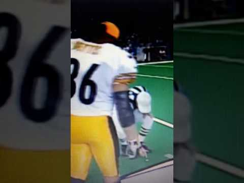Jerome Bettis infamous coin toss