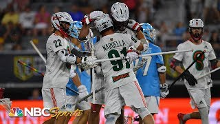 Premier Lacrosse League: Atlas vs. Whipsnakes | EXTENDED HIGHLIGHTS | NBC Sports