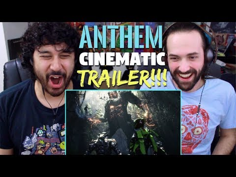 ANTHEM - Official CINEMATIC TRAILER REACTION!!!