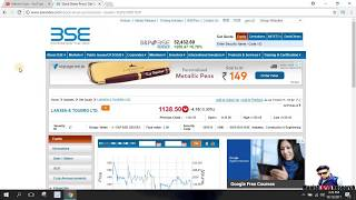How to Get Historical Data on BSE (in Hindi) by Manish Arya