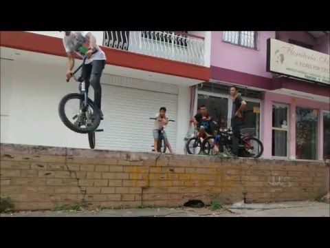 RIDE BMX STREET IN CALI, COLOMBIA 2015!