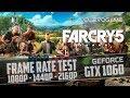 Far Cry 5 - GTX 1060 - i7 4770K - 1080p - 1440p -  4K
