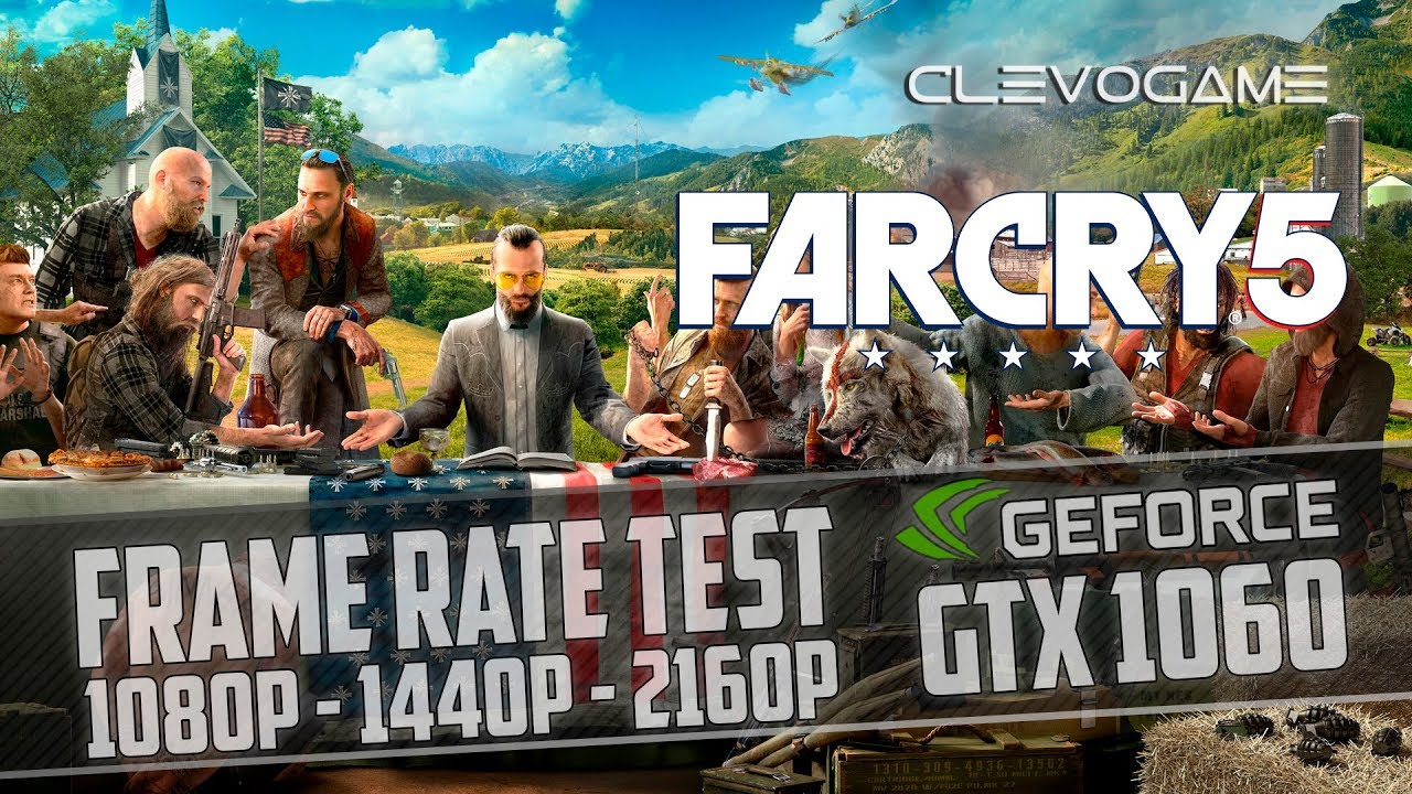 Far Cry 5 Gtx 1060 I7 4770k 1080p 1440p 4k Youtube