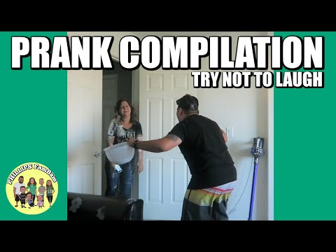ULTIMATE FUNNY PRANKS COMPILATION | OUR BEST PRANK | TRY NOT TO LAUGH | PHILLIPS FamBam Pranks