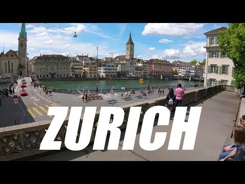 A Tour of Zurich, Switzerland: Paradise in the Alps