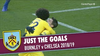 Download Video JUST THE GOALS | Burnley v Chelsea 2018/19 MP3 3GP MP4