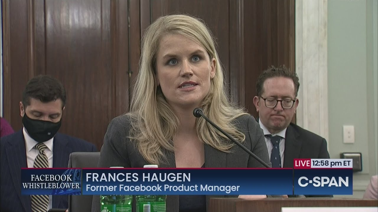 Here are 4 key points from the Facebook whistleblower's testimony ...