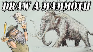 How to Draw a Mammoth (Intermediate)