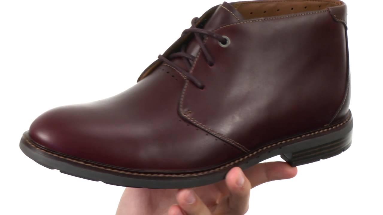Clarks Unelott Leather Ankle Boot 11z6lDp